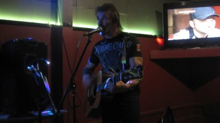 Jim Abbott at Savoy Pub November 27th 2014